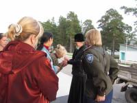 Посещение вынужденных переселенцев из Украины