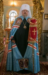 В день тезоименитства Митрополит Пантелеимон совершил Божественную литургию в храме Рождества Христова в Красноярске