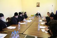 В Синодальном комитете по взаимодействию с казачеством состоялась коллегия войсковых священников реестровых казачьих войск