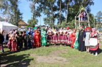День прославления Пресвятой Богородицы, иконы Ея Смоленская 10 августа, в Ермаковском состоялся праздник 185-летия села