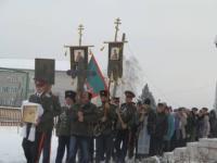 Принятия воинской Присяги в казачестве Ермаковской земли