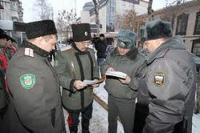 В Тюмени казаки помогают полиции обеспечивать безопасность