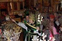 Неделя 6-я Великого поста, ваий (Вербное воскресенье), двунадесятый праздник Входа Господня в Иерусалим
