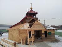 Продолжаются работы по реконструкции храма Александра Невского в Красноярске