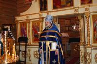 7 апреля, в праздник Благовещения Пресвятой Богородицы совершена Божественная литургия св. Василия Великого