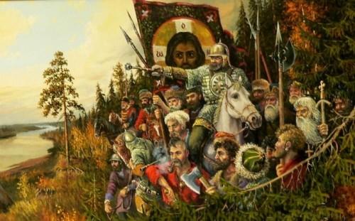 Поздравление войскового священника Енисейских казачьих Войск и общественных объединений