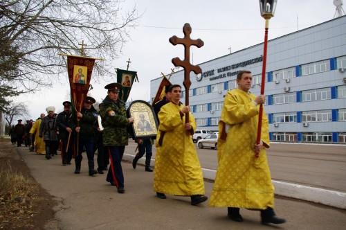 В Бородине состоялся крестный ход